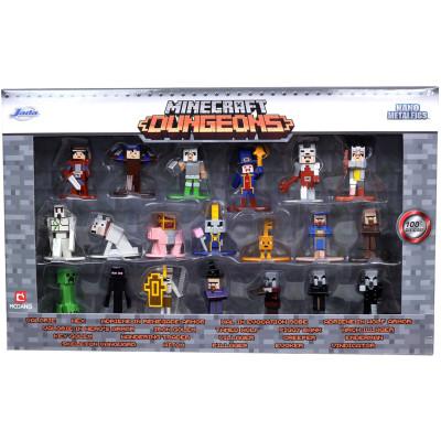 Набор фигурок Jada Toys Minecraft - Nano Metalfigs - Wave 4 (4 см)