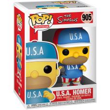 Фигурка The Simpsons - POP! TV - U.S.A. Homer (9.5 см)