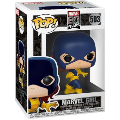 Фигурка Funko Головотряс Marvel 80 Years - POP! - Marvel Girl 40718 (9.5 см)