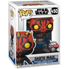 Головотряс Star Wars: The Clone Wars - POP! - Darth Maul with Saber (Exc) (9.5 см)