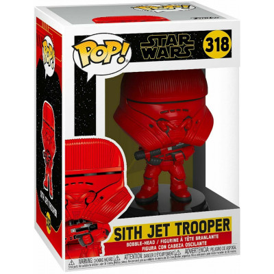 Фигурка Funko Головотряс Star Wars Episode IX The Rise of Skywalker - POP! - Sith Jet Trooper 39880 (9.5 см)
