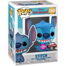 Фигурка Lilo & Stitch - POP! - Smiling Stitch Seated (Flocked) (Exc) (9.5 см)