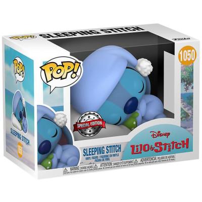 Фигурка Funko Lilo & Stitch - POP! - Sleeping Stitch (Exc) 56127 (9.5 см)