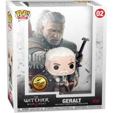 Фигурка The Witcher 3: Wild Hunt - POP! Games - Geralt (Cover Box Game) (Exc) (9.5 см)