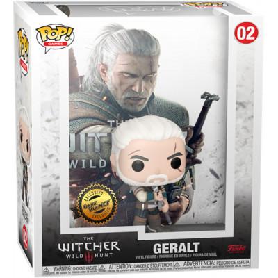 Фигурка Funko The Witcher 3: Wild Hunt - POP! Games - Geralt (Cover Box Game) (Exc) 56451 (9.5 см)
