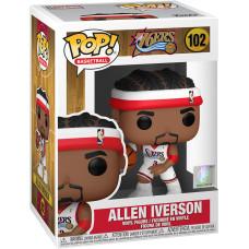 Фигурка Philadelphia 76ers - POP! Basketball - Allen Iverson (Sixers Home) (9.5 см)
