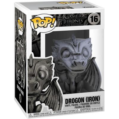 Фигурка Funko Game of Thrones: The Iron Anniversary - POP! TV - Drogon (Iron) 56794 (9.5 см)