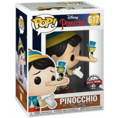 Фигурка Funko Pinocchio - POP! - Pinocchio with Jiminy (Exc) 42120 (9.5 см)