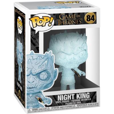 Фигурка Funko Game of Thrones - POP! TV - Crystal Night King with Dagger in Chest 44823 (9.5 см)