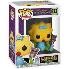 Фигурка The Simpsons: Treehouse of Horror - POP! TV - Alien Maggie (9.5 см)