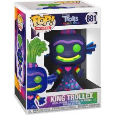 Фигурка Trolls World Tour - POP! Movies - King Trollex (Glows in the Dark) (Exc) (9.5 см)