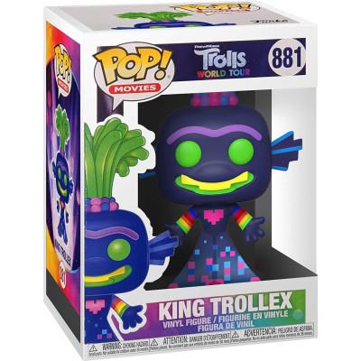 Фигурка Funko Trolls World Tour - POP! Movies - King Trollex (Glows in the Dark) (Exc) 47551 (9.5 см)