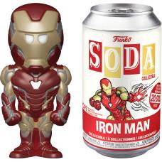 Фигурка Avengers: Endgame - Vinyl SODA - Iron Man (7.6 см)
