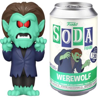 Фигурка Funko Scooby Doo - Vinyl SODA - Werewolf 52409 (7.6 см)