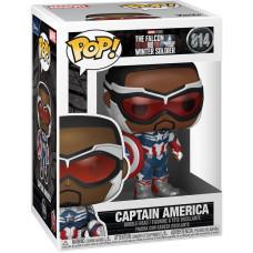 Головотряс The Falcon & Winter Soldier - POP! - Captain America (9.5 см)