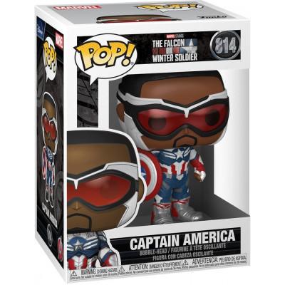 Фигурка Funko Головотряс The Falcon & Winter Soldier - POP! - Captain America 51630 (9.5 см)