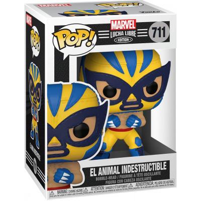 Фигурка Funko Головотряс Lucha Libre - POP! - El Animal Indestructible (Marvel Edition) 53873 (9.5 см)