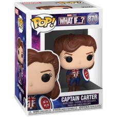 Головотряс What If…? - POP! - Captain Carter (9.5 см)