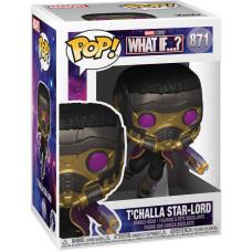 Головотряс What If…? - POP! - T'Challa Star-Lord (9.5 см)