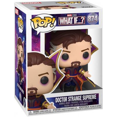 Фигурка Funko Головотряс What If…? - POP! - Doctor Strange Supreme 55815 (9.5 см)