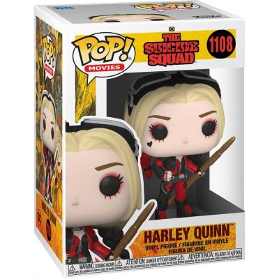Фигурка Funko The Suicide Squad - POP! Movies - Harley Quinn (Bodysuit) 56015 (9.5 см)