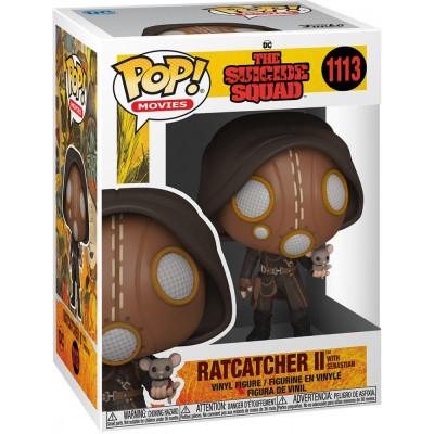 Фигурка Funko The Suicide Squad - POP! Movies - Ratcatcher II with Sebastian 56018 (9.5 см)