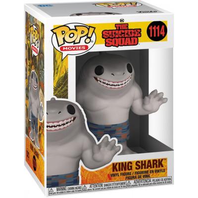 Фигурка Funko The Suicide Squad - POP! Movies - King Shark 56019 (9.5 см)