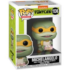 Фигурка Teenage Mutant Ninja Turtles II: The Secret of the Ooze - POP! Movies - Michaelangelo (9.5 см)