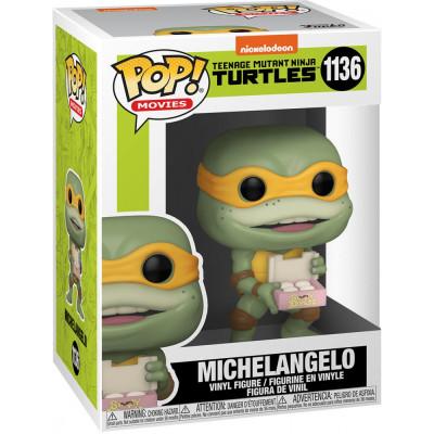 Фигурка Funko Teenage Mutant Ninja Turtles II: The Secret of the Ooze - POP! Movies - Michaelangelo 56162 (9.5 см)