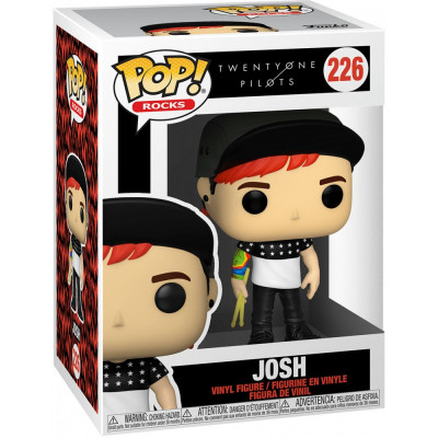 Фигурка Funko Twenty One Pilots - POP! Rocks - Joshu 56730 (9.5 см)
