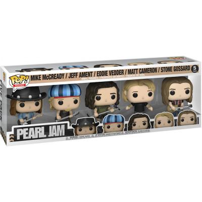 Набор фигурок Funko Pearl Jam - POP! Rocks - Mike McCready / Jeff Ament / Eddie Vedder / Matt Cameron / Stone Gossard 60042 (9.5 см)