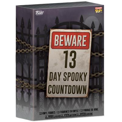 Набор фигурок Funko 13-Day Spooky Countdown - Pocket POP! - Advent Calendar 48114 (4 см)