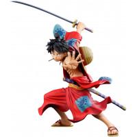 Фигурка One Piece - World Figure Colosseum3- Super Master Stars Piece The Monkey D Luffy (Manga Dimensions) (19 см)