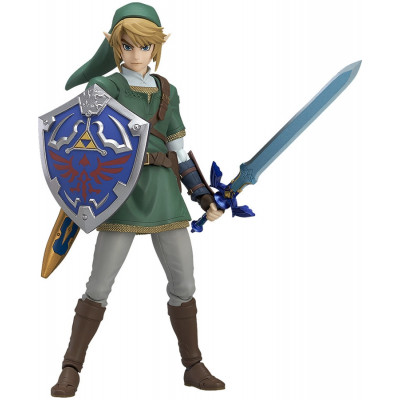 Фигурка Good Smile The Legend of Zelda: Twilight Princess - figma - Link (Princess Ver.) (DX Edition) G12136 (14 см)