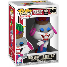 Фигурка Looney Tunes: 80th Anniversary Bugs Bunny - POP! Animation - Bugs Bunny (in Fruit Hat) (9.5 см)