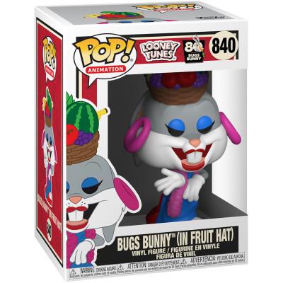Фигурка Funko Looney Tunes: 80th Anniversary Bugs Bunny - POP! Animation - Bugs Bunny (in Fruit Hat) 49161 (9.5 см)