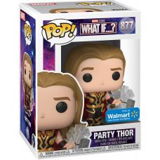 Головотряс What If…? - POP! - Party Thor (Exc) (9.5 см)