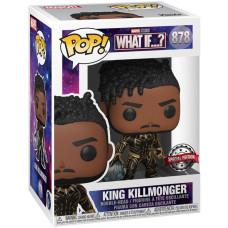 Головотряс What If…? - POP! - King Killmonger (Exc) (9.5 см)