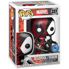 Головотряс Marvel Comics - POP! - Deadpool/Venom (Metallic) (Exc) (9.5 см)