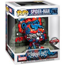 Головотряс Marvel Comics - POP! Deluxe - Spider-Man (Street Art Collection) (9.5 см)
