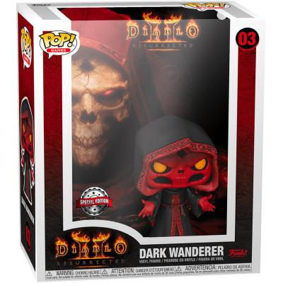 Фигурка Funko Diablo II: Resurrected - POP! Games - Dark Wanderer (Cover Box Game) (Glows in the Dark) (Exc) 56449 (9.5 см)