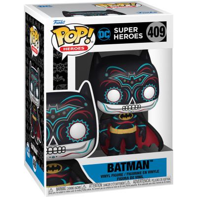 Фигурка Funko DC: Super Heroes - POP! Heroes - Batman (Dia De Los DC) 57413 (9.5 см)