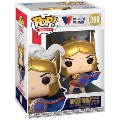 Фигурка Funko Wonder Woman 80th Anniversary - POP! Heroes - Wonder Woman Challenge of The Gods 54971 (9.5 см)