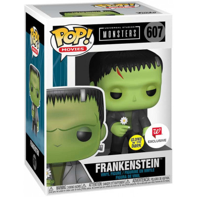 Фигурка Funko Universal Monsters - POP! Movies - Frankenstein (with Flower) (Glows in the Dark) (Exc) 49723 (9.5 см)