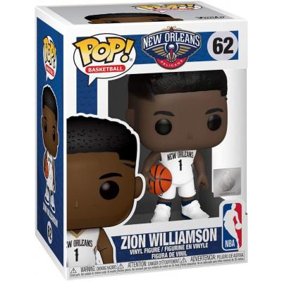 Фигурка Funko New Orleans Pelicans - POP! Basketball - Zion Williamson (City Edition) 57632 (9.5 см)