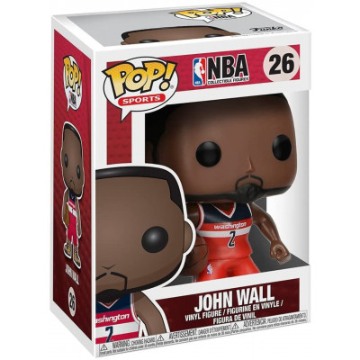 Фигурка Funko Houston Rockets - POP! Sports - John Wall (Red Jersey) 59261 (9.5 см)