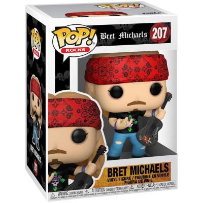 Фигурка Funko Bret Michaels - POP! Rocks - Bret Michaels 52929 (9.5 см)