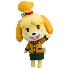 Фигурка Animal Crossing: New Leaf - Nendoroid - Shizue (Isabelle) (Winter Ver.) (2nd re-run) (10 см)
