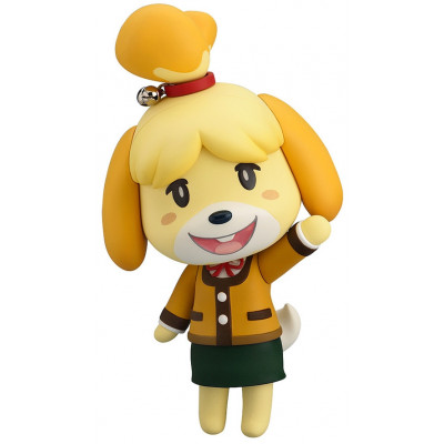 Фигурка Good Smile Animal Crossing: New Leaf - Nendoroid - Shizue (Isabelle) (Winter Ver.) (2nd re-run) G90479 (10 см)