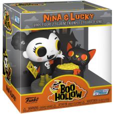 Фигурка Paka Paka: Boo Hollow - POP! Deluxe - Nina & Friends (9.5 см)